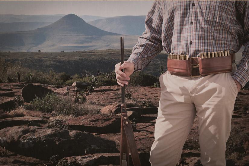 Els & Co handmade leather culling belt