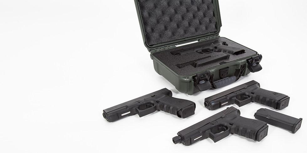Nanuk Small pistol case  909 Glock®