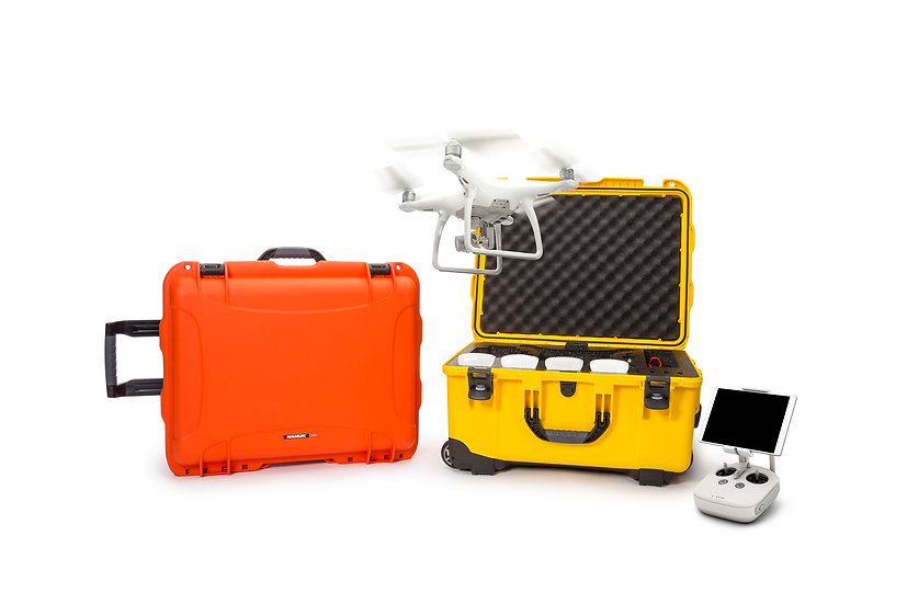 Nanuk Wheeled protective case / flightcase for 950 DJI Phantom 4