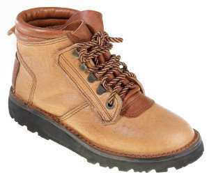 Courteney safari boots for women in tan Kudu leather