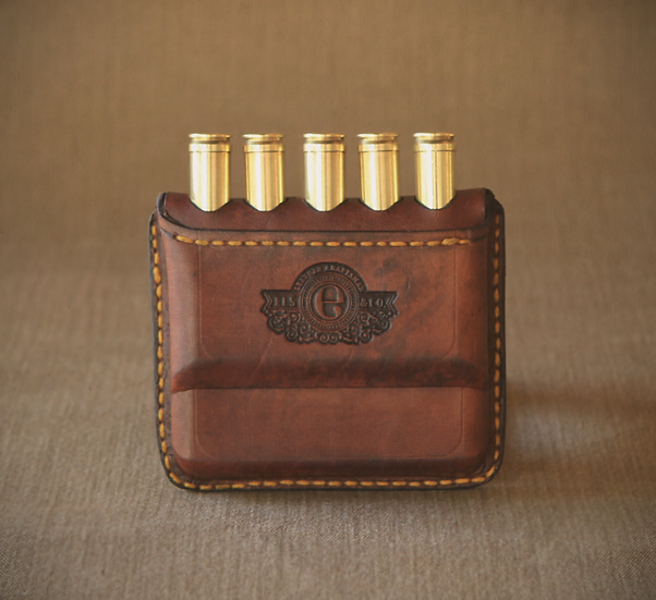 Els & Co Rhodes Leather Cartridge Wallet MEDIUM