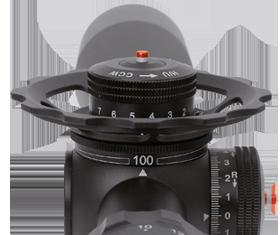 Parallax wheel for K1050