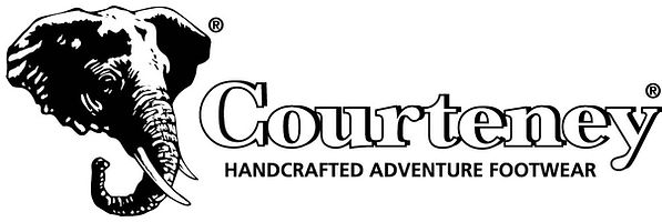 Courteney safari Boots Logo.