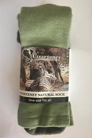 Courteney natural socks