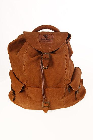 Courteney Haversack/Backpack in warthog leather
