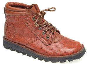 Courteney Safari Boots Ladies The safari in almond ostrich leather