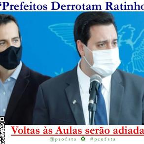 """""""Prefeitos Derrotam Ratinho"""" - Voltas às Aulas serão Adiadas?"""