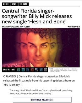 Billy Mick Music