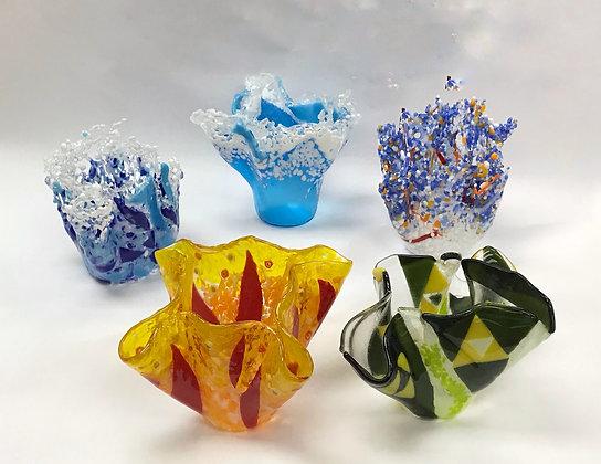 Fused Glass Vase