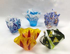 Make a Fused Glass Vase