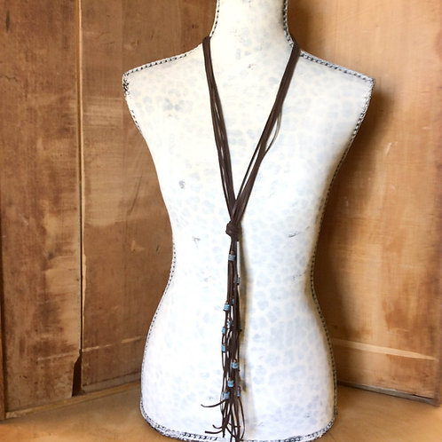 Cowgirl Layer Necklace~ Rosamond