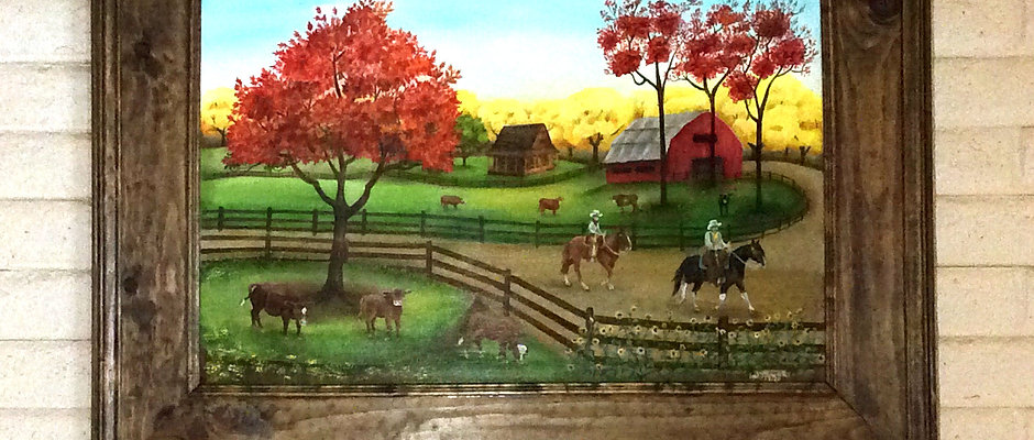Fall Ride~ Original Painting 36X24