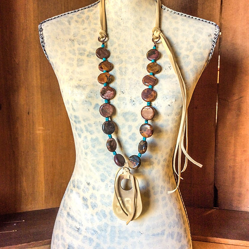 Cowgirl Statement Necklace~ Number 361