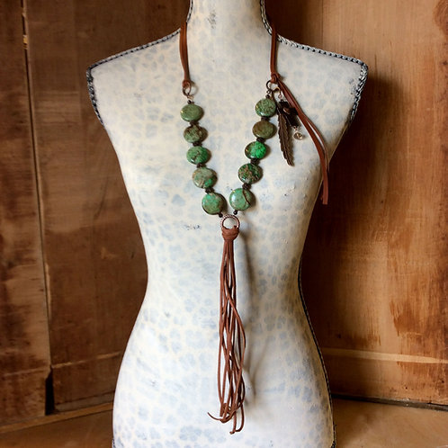 Cowgirl Layer Necklace~ Envy