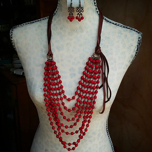 Cowgirl Statement Necklace~ Ruby Jean