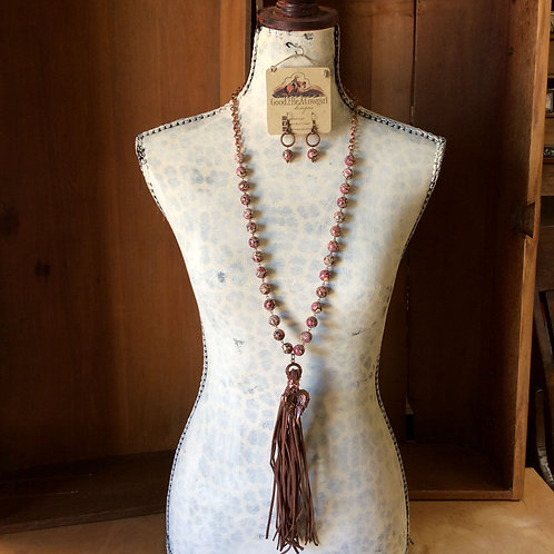Cowgirl Layer Necklace Set~ Hopeful Heart
