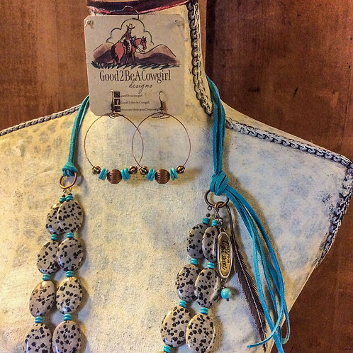 Cowgirl Statement Necklace Set~ Let Your Light Shine