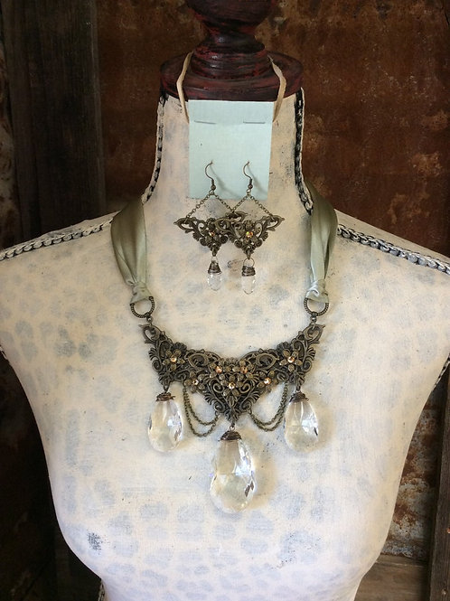 Wedding or Special Occasion Necklace Set~ Sublime