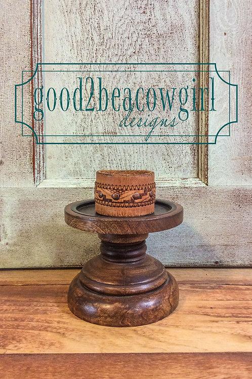 Cowgirl Vintage Leather Cuff~ Mesa
