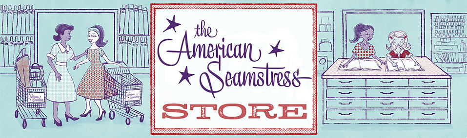 The American Seamstress Store banner dar