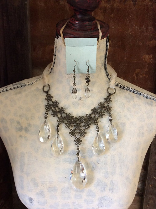Wedding or Special Occasion Necklace Set~ Remember Me