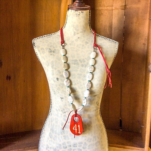 Cowgirl Statement Necklace~ Number 41