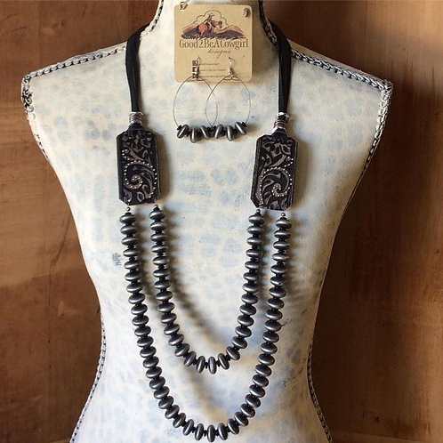 Cowgirl Pearls Necklace Set~ Calamity Kate's Pearls