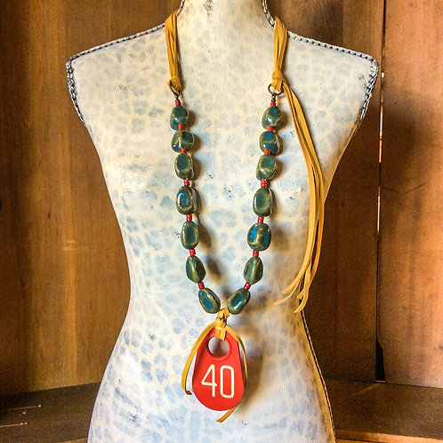 Cowgirl Statement Necklace~ Number 40