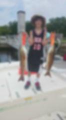 caught some redfish,