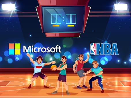 NBA VE MICROSOFT YENİ ORTAKLIKLARINI DUYURDU