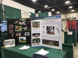 ISSO Booth at PA Horse Expo 2019