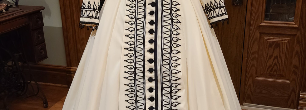 Holly Ray's Reproduction Dress Front