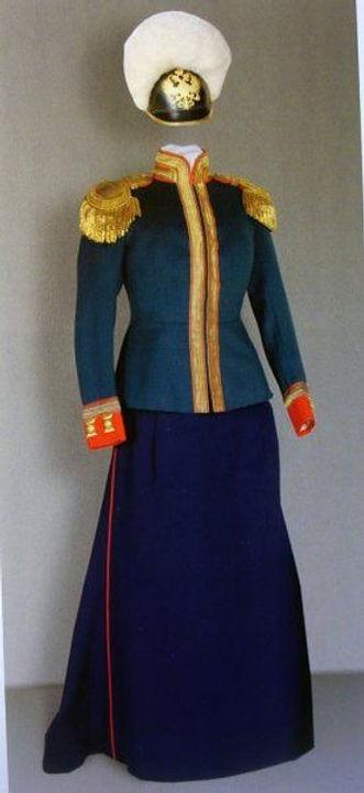 Maria's Uniform, Alexander Palace Museum
