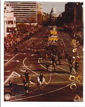 Official Inaugural Parade Photo 1977