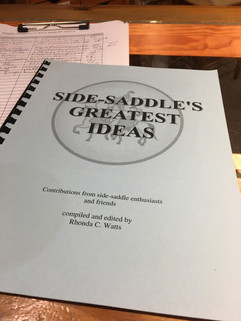 Side Saddle Book at Horse Country