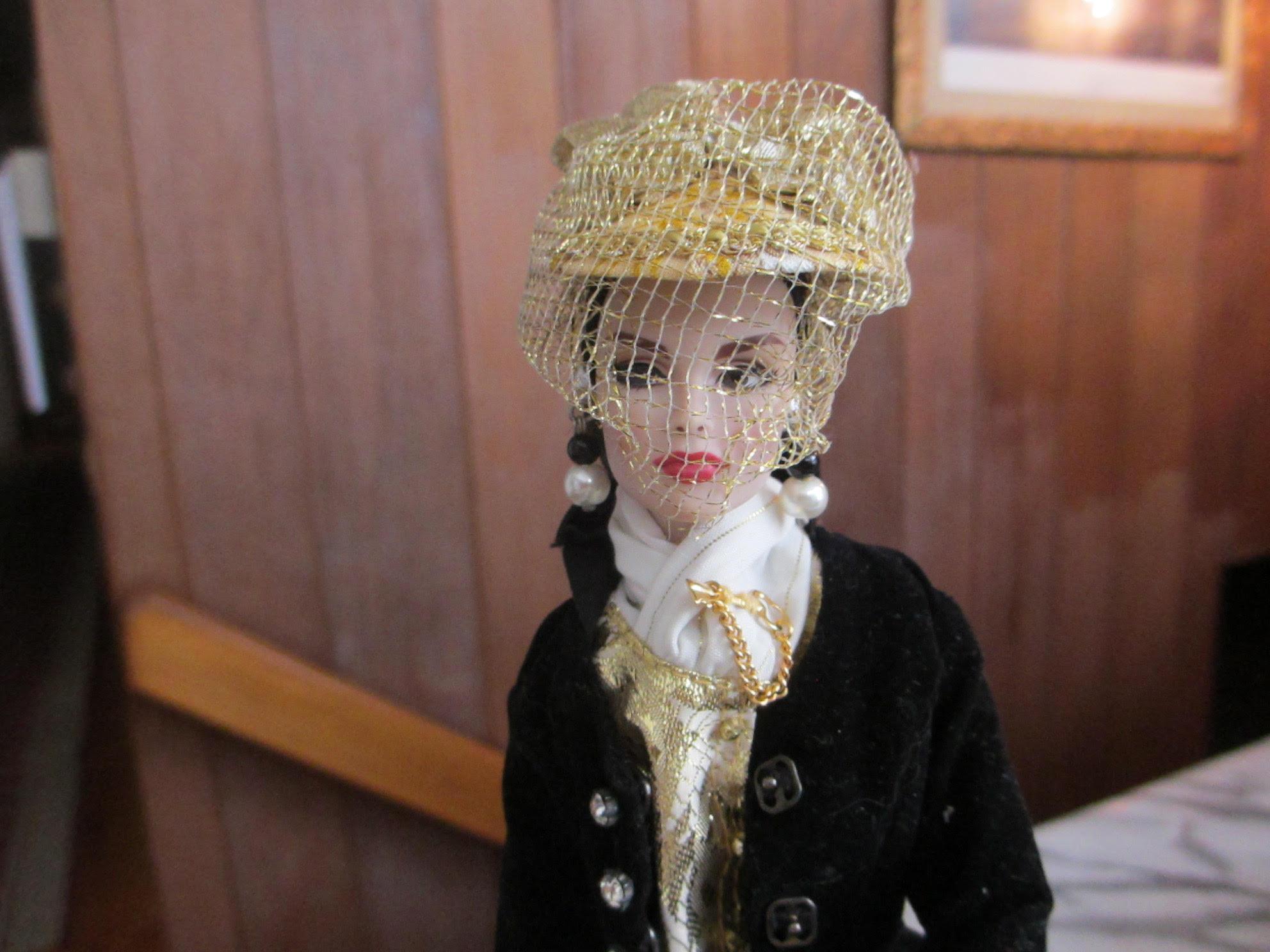Close up shot of Fashion Royalty doll