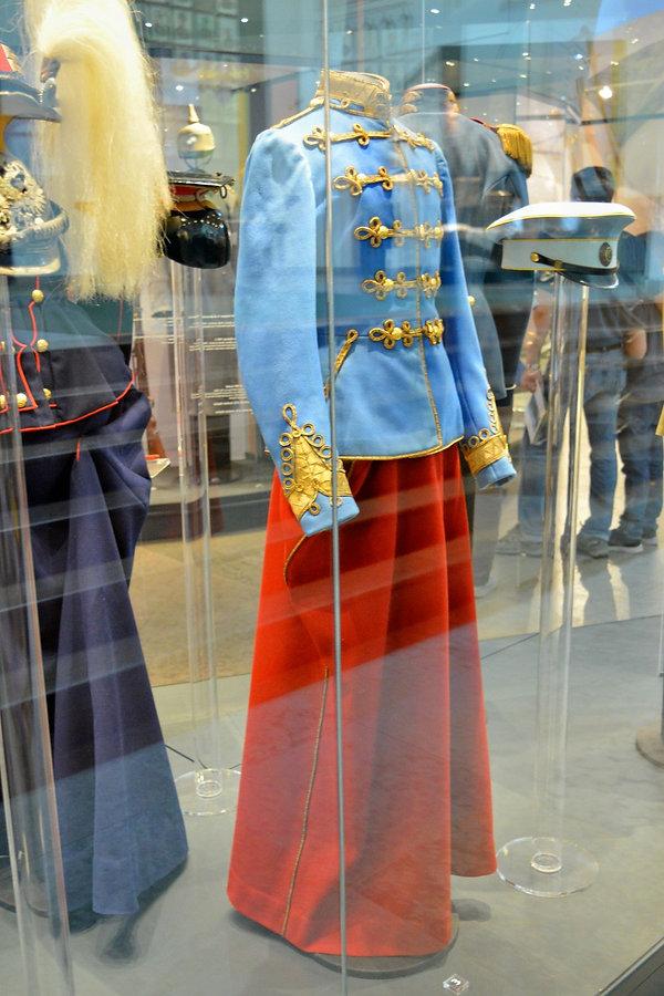 Olga's Uniform, Alexander Palace Museum,