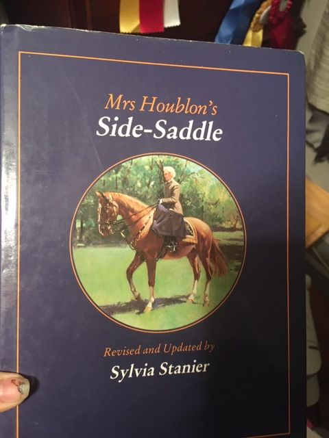 Mrs Houblons Side Saddle
