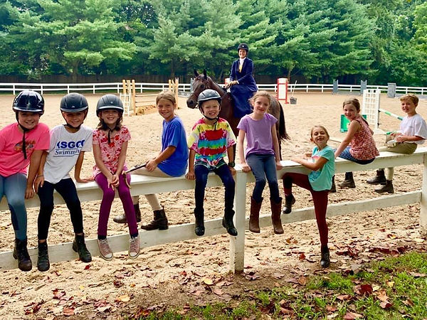 pie sidesaddle with group of kids.jpg