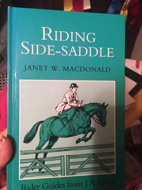 Riding Side Saddle MacDonald