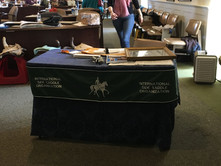 ISSO Meeting Registration Table at the Annual Meeting 2019