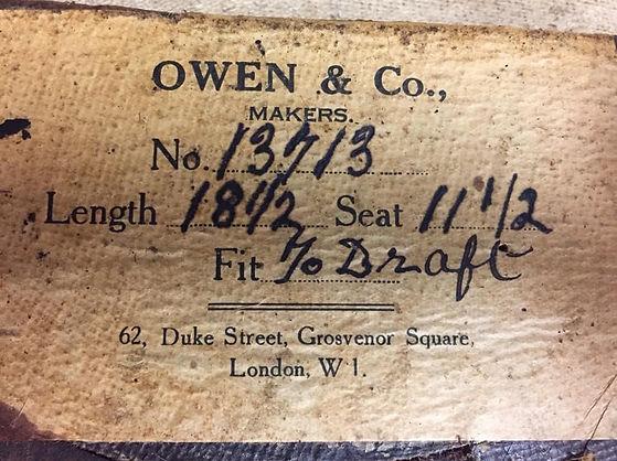 Owen tree label