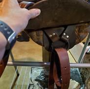 western catalog side saddle near rigging