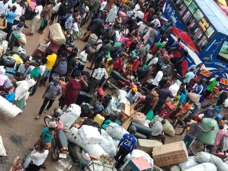 Panic Strikes as Ugandans Rush to Return to Villages Before Total Lockdown!