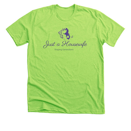 """Signed Paperback of """"Just"""" a Housewife and T-Shirt"""