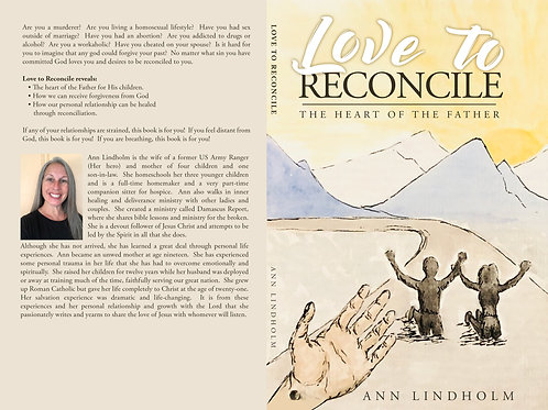 Signed Paperback Love to Reconcile