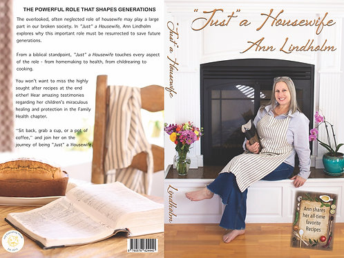 "Signed paperback ""Just"" a Housewife: The Powerful Role that Shapes Generations"
