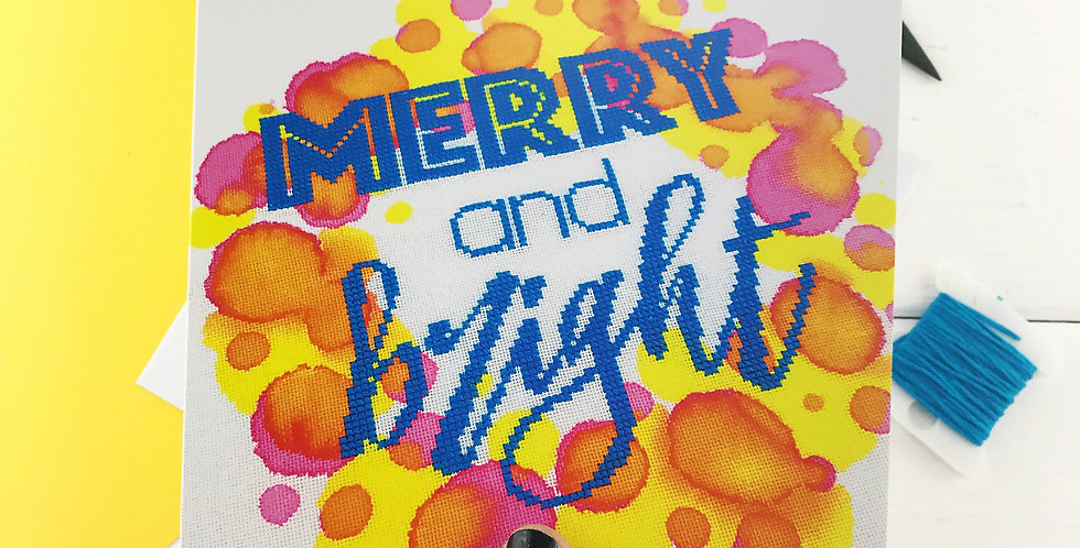 Merry and Bright - Photographic Christmas Card