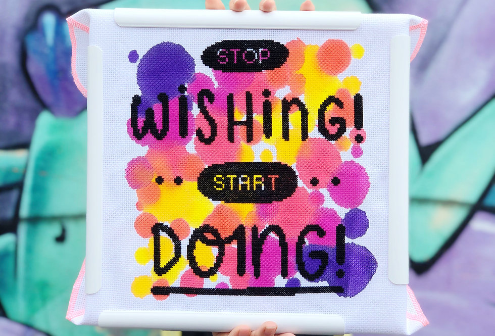 Stop Wishing! Start Doing! - Collaboration with Joanne Hawker