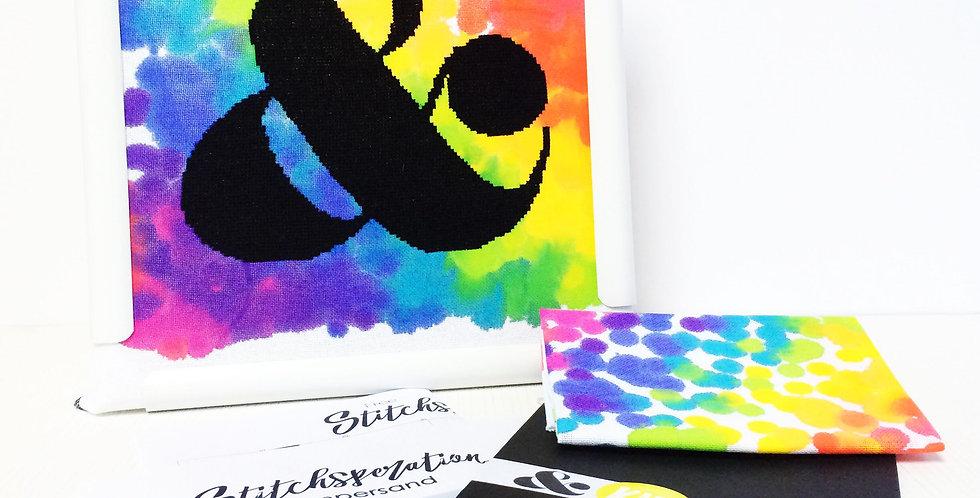 Ampersand Modern Cross Stitch Kit